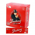 Bibułka SMOKING RED 98 KING SIZE - 10szt