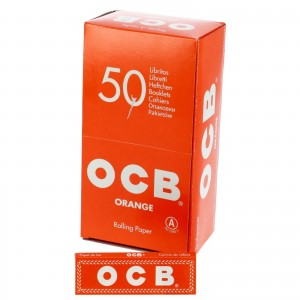 Bibułka OCB orange BOX 50 szt