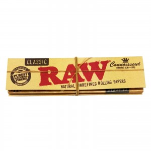 Bibułka RAW CONNOISSEUR KS slim + Tips
