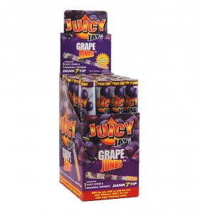 Bibułka JUICY JONES Grape 1 1/4 BOX 24 szt