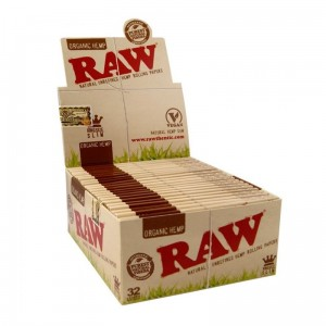 Bibułka RAW ORGANIC HEMP KS Slim BOX