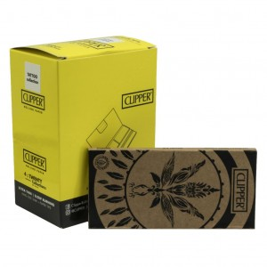 Bibułka Clipper Leaves Tattoo KS Slim + Tips BOX12