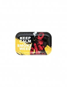 Tacka metalowa Keep Calm 27,5x17,5cm