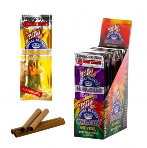 Bibułka ROYAL BLUNT HEMPARILLO MIX n ROLL BOX 15op