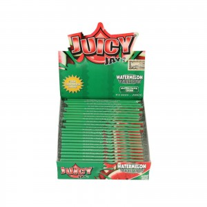 Bibułka Juicy Jay's slim KS arbuz BOX 24 szt
