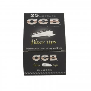 Filterki OCB TIPS BOX 25 szt