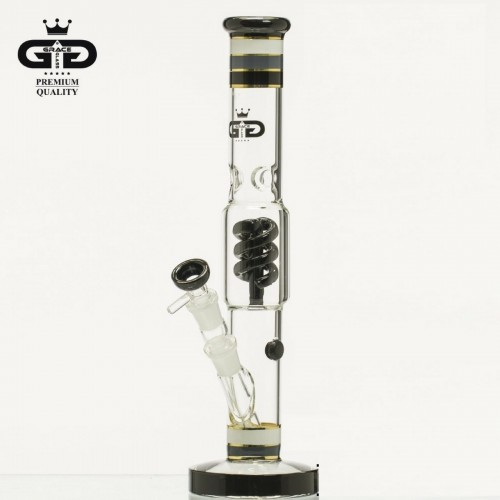 Bongo Grace Glass HAMMER Series Funky Twist 38 cm